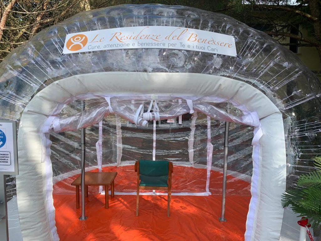 EMISPHERE ed ATRIUM  – Due novità per la Casa protetta di Migliaro
